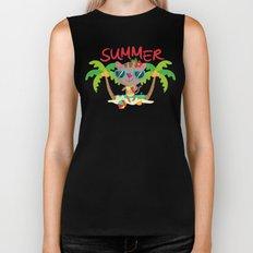 Hello, summer Biker Tank