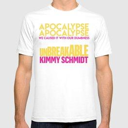 Unbreakable Kimmy Schmidt. T-shirt