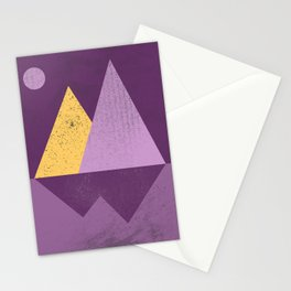 Abstract Landscaoe Stationery Cards