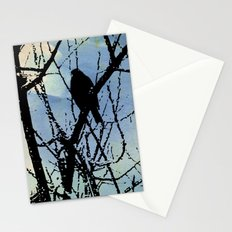 on a Winter's wing... Stationery Cards