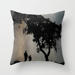 Grandpa Tell Me About The Good Old Days Throw Pillow