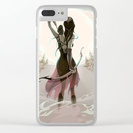 The last chance Clear iPhone Case