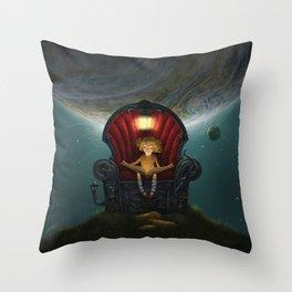 The Dreams Machine Throw Pillow