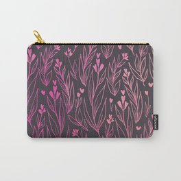 Leafy Background Carry-All Pouch
