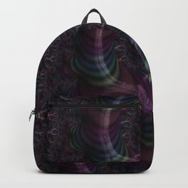 Branching Rainbow Fractal Backpack