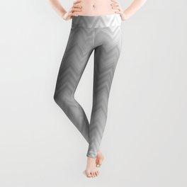 Chevron Fade Grey Leggings