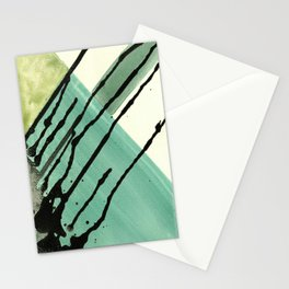 Watercolor Monoprint #5 Stationery Cards