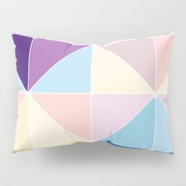 Geometric Shades of Colour Pillow Sham