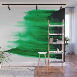 Emerald Bleed Wall Mural
