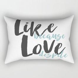 Like Rectangular Pillow