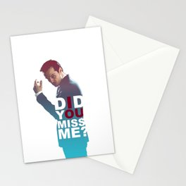 Moriarty - Did you miss me? Stationery Cards