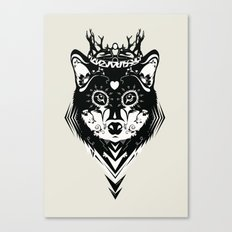 King of Wolf Canvas Print