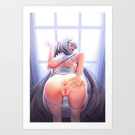 Hentai Round Ass Art Print