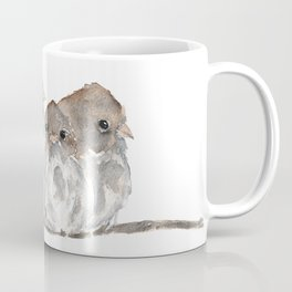 Cuddling birds Coffee Mug
