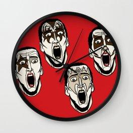 Kiss Cage Wall Clock