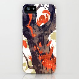 The Devils of Dark Bark iPhone Case