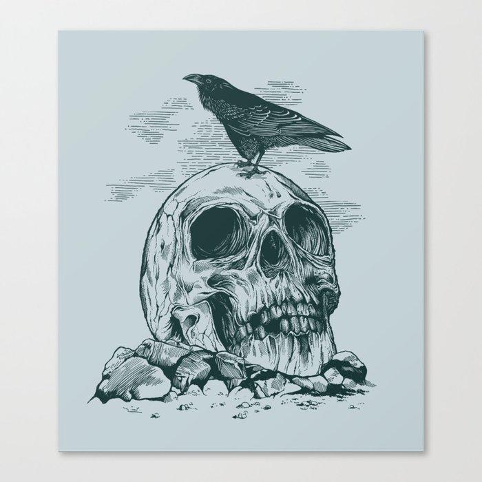 Raven's Cliff Canvas Print