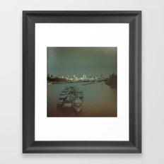 Light Up London. Framed Art Print