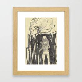 saranghae Framed Art Print
