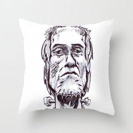 FrankenStoner Throw Pillow