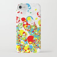 funky iPhone & iPod Cases featuring Funky Skulls by Azarias
