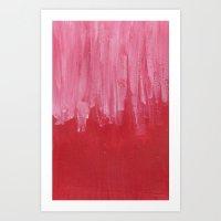Palette colours Art Print