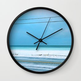 The Cold After the Storm Wall Clock
