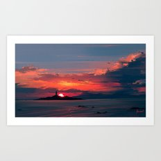 Close To The Sun Art Print