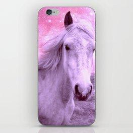 Pink Horse Celestial Dreams iPhone Skin