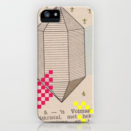 Fig 5. Primary Prism Banana iPhone Case
