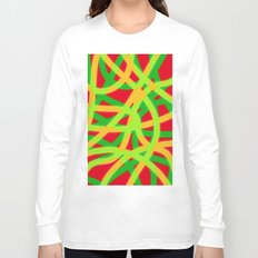 lively lines Long Sleeve T-shirt