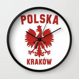 KRAKOW Wall Clock