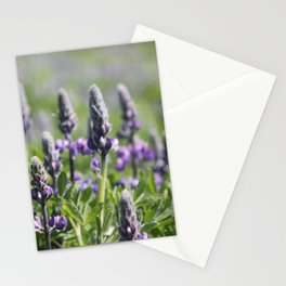 Wildflowers in Vik Stationery Cards