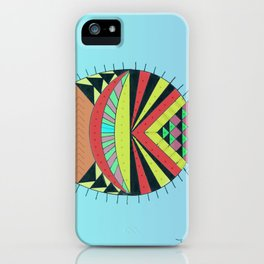 the tamborin fish or puffer fish iPhone Case