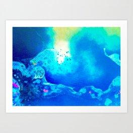 Electric Lagoon Art Print