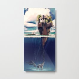 Dream Island Metal Print
