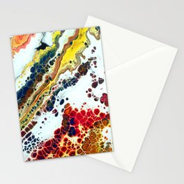 Primary Agate Slab Stationery Cards