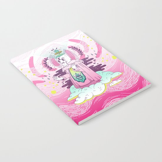 Pink Hush Hush Notebook