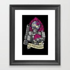 Pax Per Tyrannis Framed Art Print