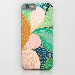 Swirly Interest iPhone Case