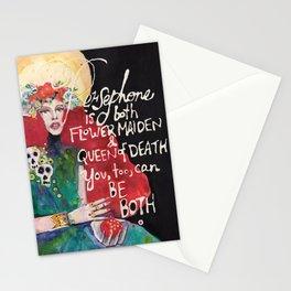 Goddess Persephone Stationery Cards