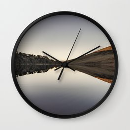 Lough Tay, Wicklow, Ireland Wall Clock