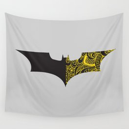 Laced BAT-man Wall Tapestry