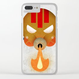 Dhalsim Clear iPhone Case