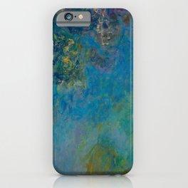 Claude Monet Wisteria iPhone Case
