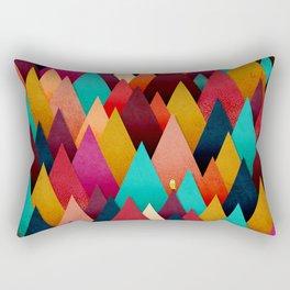 072 – deep into the autumn forest texture III Rectangular Pillow