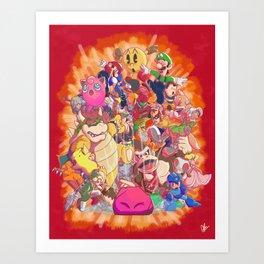 Down-B Art Print