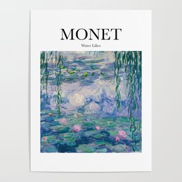 Monet - Water Lilies Poster