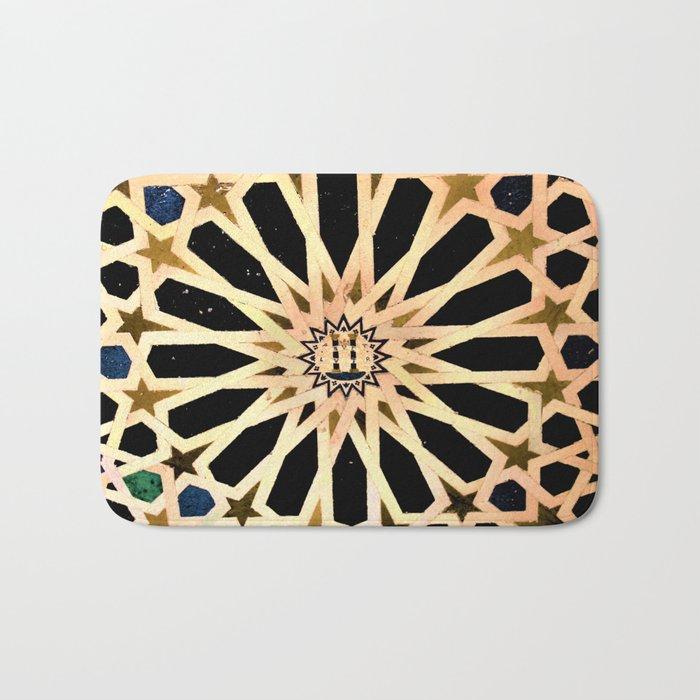 Azulejo de La Alhambra Bath Mat
