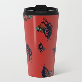 The Krampus - an Austrian Legendary Figure Travel Mug